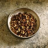 Szechuan pepper in a bowl