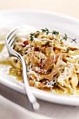 Trippa alla veneziana (Kutteln mit Schinken und Parmesan)