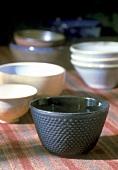 Various tea bowls