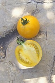 Yellow tomato, variety Lemon Boy