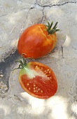 Giant Oxheart tomato (or Coeur de Boeuf)