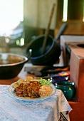 Carne a moda da Bocaina (beef with pine nuts, Brazil)