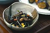 Hijiki (boiled black seaweed, Japan)