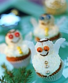Christmas angel muffins (orange and coconut muffins)
