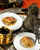 Baklava (Turkish nut and almond pastry)