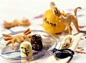 Sweet edible Halloween decorations