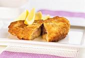 Classic Cordon Bleu (stuffed pork escalope)