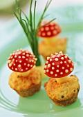Käse-Kartoffelbrei-Muffins