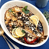 Pesce al forno (Fisch aus dem Ofen), Kampanien, Italien
