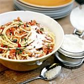 Pasta alla carrettiera (Nudeln mit Tomatensauce, Sizilien)