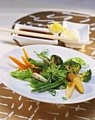 Thai stir-fried vegetables