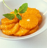 Thai dessert: preserved oranges