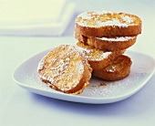 Torrijas (French toast with icing sugar, Spain)
