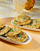 Maryland crab cakes with parsley