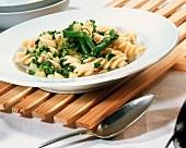 Pasta con fagioli e gremolata (Aromatic pasta dish)