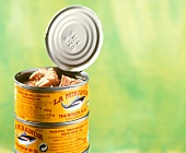 Tins of tuna