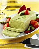 Green asparagus terrine