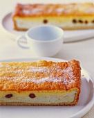 Saxon Eierschecke (cheesecake)