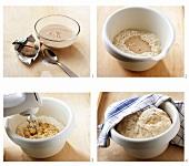 Making leavened dough