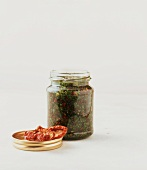 Gremolata in jar (will keep about 3 months)