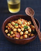 Pindi chole (Indian chick-pea dish)