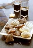 Basler Brunsli and vanilla biscuits