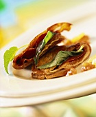 Saltimbocca di maiale (Pork escalope with sage, Italy)