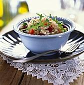 Insalata di grano (tender wheat salad), Tuscany, Italy