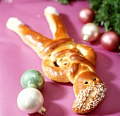Schweizer Mann - bread figure for Christmas