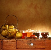 Quinces, quince jelly and other jams