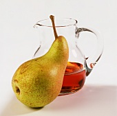 Pear and concentrated pear juice (sweetener)
