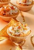 Lemon muffins for Christmas