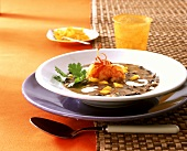 Potaje de frijoles negros (black bean stew, Cuba)