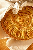 Tarte aux pommes (French apple tart)
