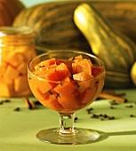 Doce de abóbora (pumpkin compote, Brazil)