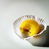 Quindim (coconut and egg pudding, Brazil)