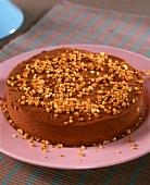 Gâteau truffé au chocolat (chocolate truffle cake, France)