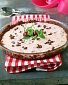 Tarte croustillante with cherry cream filling