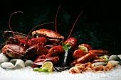 Seafood still life