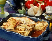 Moussaka (mince and aubergine dish, Greece)