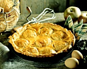 Apple tart (Normandy, France)