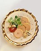 Assiette du foie gras (France)