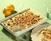 Cauliflower gratin