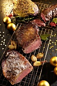 Roast beef for Christmas (various types, Brazil)