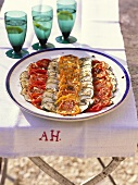 Tian de courgettes (courgette and tomato gratin, Provence)