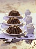Gâteaux de châtaignes (chestnut cakes, Provence)