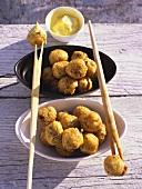Beignets de morue (stockfish balls, France)