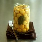 Lamoun makbouss (pickled lemons, Morocco)