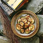 Se xia me (fried mushrooms, Tibet)