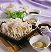 Cooked Dan dan (noodle dish, Sichuan, China)